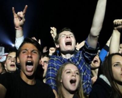 Российская музыка завоёвывает украинскую молодежь