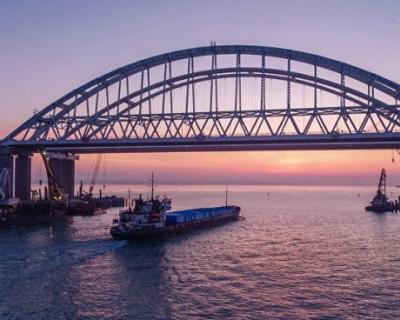 ВИДЕО строительства подхода к Крымскому мосту с высоты птичьего полёта
