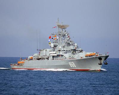 В Чёрное море вошёл американский боевой корабль с ракетами. Россия следит