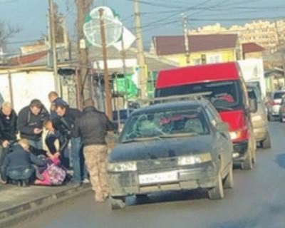 В центре столицы Крыма сбили девочку