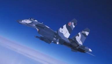 Видео перехвата российским истребителем Су-27 шведского самолета-разведчика «Гольфстрим»