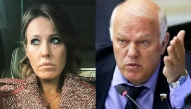 Депутат Государственной думы РФ готов помочь Ксении Собчак подметать улицы
