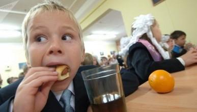 Школьники пожаловались на еду из школьной столовой, сравнив её с кормежкой для собак (ВИДЕО)