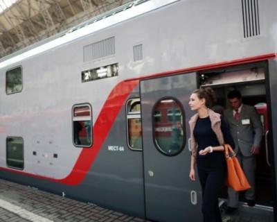 Из Москвы в Крым запустят двухэтажный поезд (ВИДЕО)