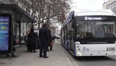 Севастопольцы продолжают терпеть хамство водителей общественного транспорта (ВИДЕО)