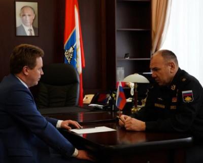 Что губернатор Севастополя сказал командующему Черноморским флотом?