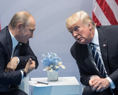 Президент США Дональд Трамп провел тайную 15-минутную встречу с Владимиром Путиным