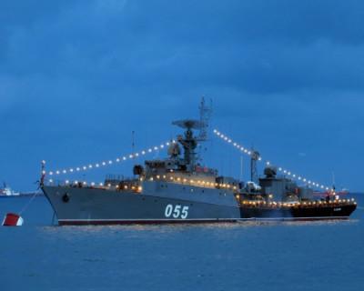 Корабль ВМФ РФ отразил атаку в Черном море