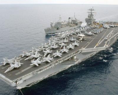 СМИ: В Соединённых штатах Америки  не могут набрать экипаж авианосца для похода на Крым