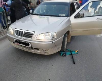 В Севастополе на пешеходном переходе сбили мальчика на самокате
