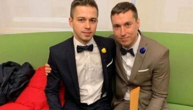 Два украинских «хлопца» поженились в Нью-Йорке (ФОТО 18+)