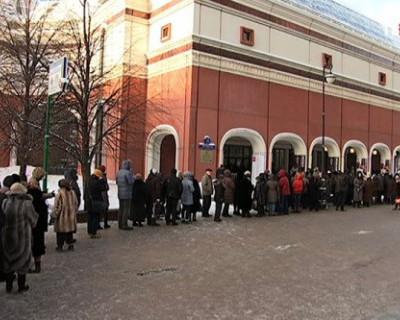 В Третьяковке выстроились огромные очереди: все хотят посмотреть на «КРЫМ»