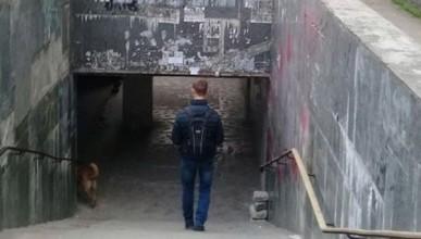 Стыд и срам! В подземном переходе Севастополя появился самодельный пандус (ФОТО)