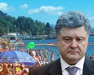 Порошенко первым предложил отдать Крым Владимиру Путину (СКРИН)