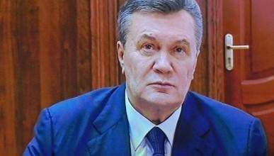 Януковича осудили за письмо Путину