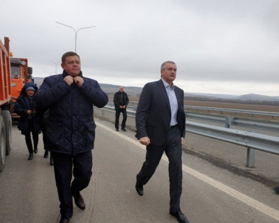 В Крыму открыли объездное кольцо: пропускная способность - 1500 автомобилей в сутки