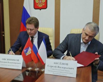 Крым и Севастополь подписали соглашение об установлении границ