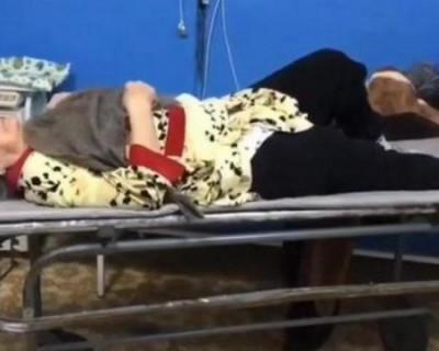 Как врачи примотали к сломанной ноге пенсионерки швабру (ВИДЕО)