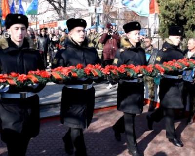 Марш афганцев в Севастополе (ВИДЕО)