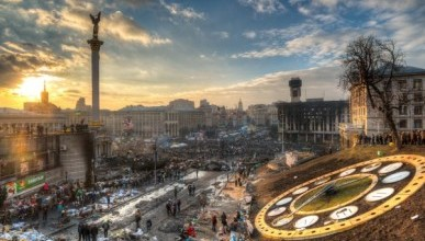 Сергей Аксенов почтил память крымчан, погибших на Майдане