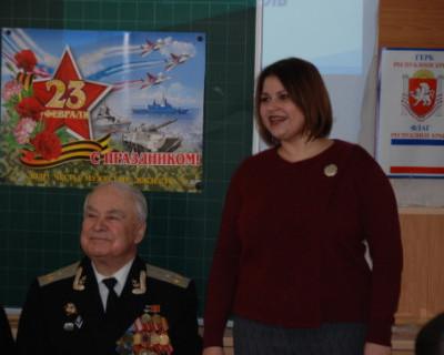 Урок мужества в Севастополе