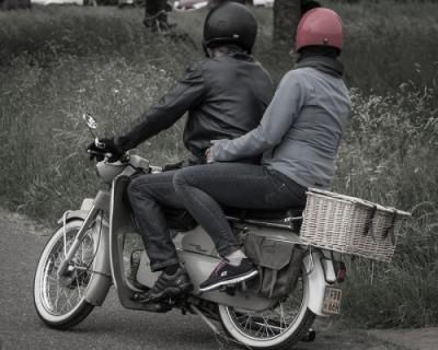 В Севастополе задержали водителя мопеда, подозреваемого в хранении наркотиков