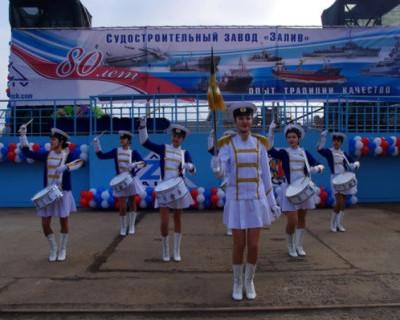 В Крыму спустили на воду новое судно (ФОТО)
