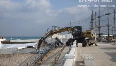 В Парке Победы начались работы по реконструкции причалов