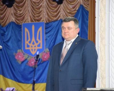 Мэр украинского города вышел на митинг против себя