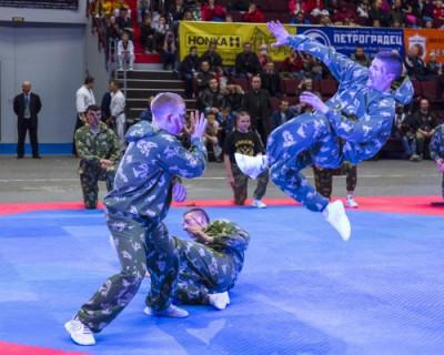 Севастопольцы участвовали в турнире по армейскому рукопашному бою