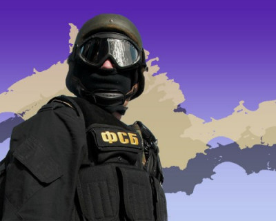 В Крыму ФСБ задержала украинского мошенника (ВИДЕО)