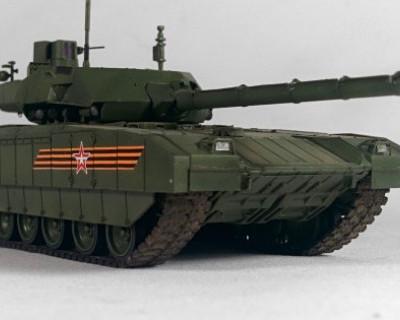В новейшем российском танке «Армата» появился туалет