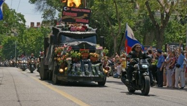 «Ночные волки» проедутся по Крыму