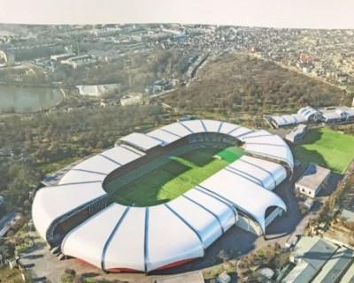 Как реконструируют главный стадион Крыма