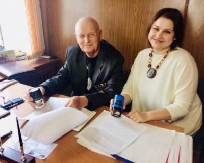 «Наш Севастополь» подписал договор о сотрудничестве с ветеранской организацией