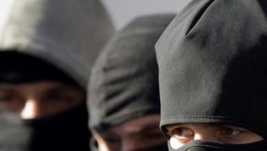 Видео, как ограбили заправку в Севастополе