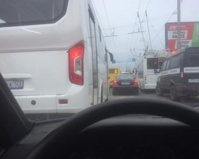 По видео установили виновника ДТП в Севастополе