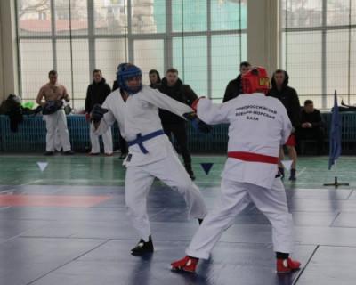 В Севастополе состоялся открытый чемпионат Черноморского флота по армейскому рукопашному бою