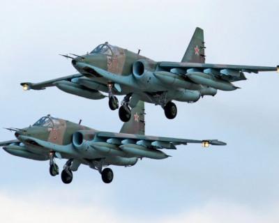 Русские «Летающие танки» отработали боевые манёвры (ВИДЕО)