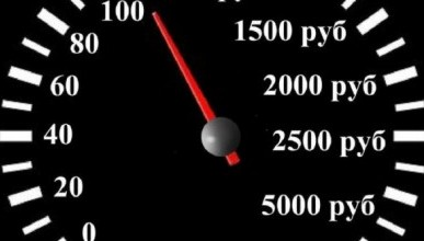 Россиян будут штрафовать за превышение скорости на 10 км/ч