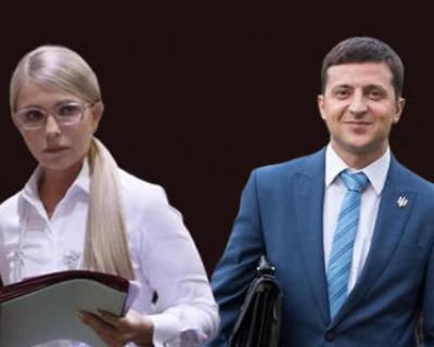 Зеленский назвал «лаем из соседнего села» слова лидера партии «Батькивщина» Юлии Тимошенко