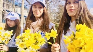 «Наш Севастополь» с волонтерами участвует в торжествах по случаю 5-летия воссоединения Севастополя с Россией