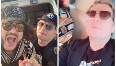 Филипп Киркоров и Николай Басков устроили дебош в аэропорту Ташкента (ВИДЕО)