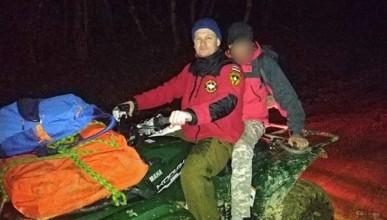 Севастополец застрял в районе водопада и травмировал ногу (ФОТО)