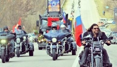 Такого вы точно не видели! Русские мотоциклисты, Хирург и улицы солнечного Севастополя (УНИКАЛЬНОЕ ВИДЕО)