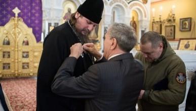 Халюта награждён орденом святого праведного воина Федора Ушакова
