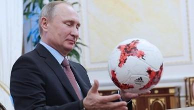 Как Владимир Путин относится к российскому футболу?