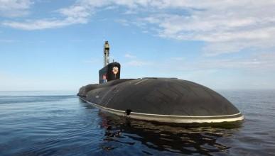 Министерство обороны показало испытания ракетоносца «Борей» (ВИДЕО)