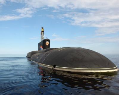 Министерство обороны показало испытания ракетоносца «Борей»