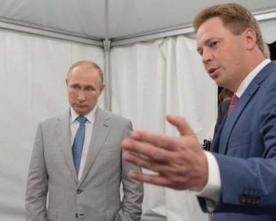О чём губернатор Севастополя сегодня рассказал Путину?